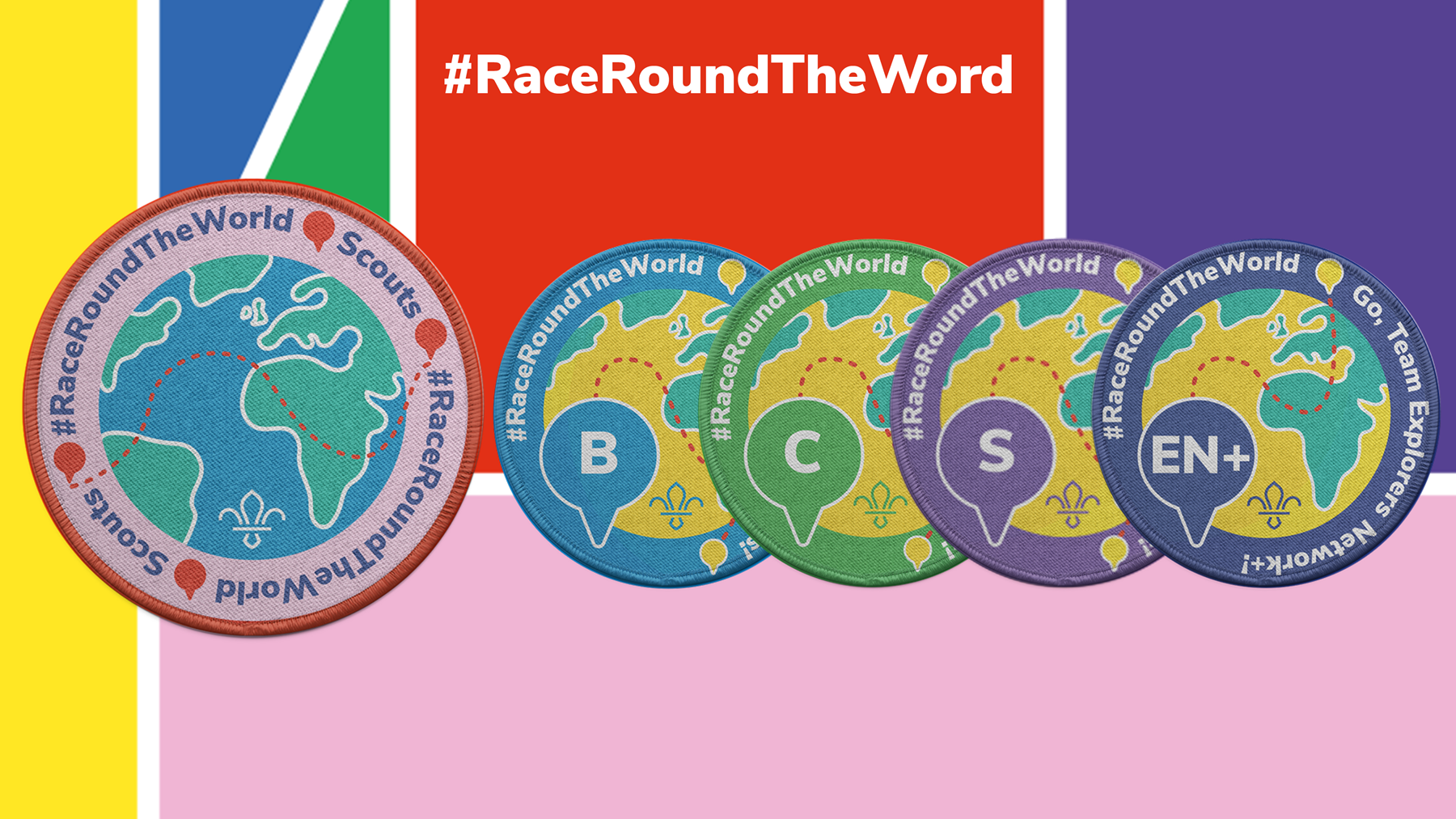 Race Round The World Zoom background (1)