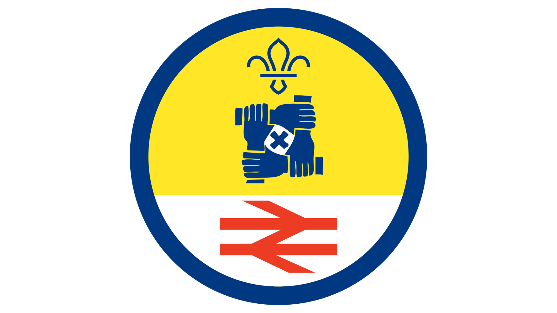 Activity Badge sponsored by the rail industry