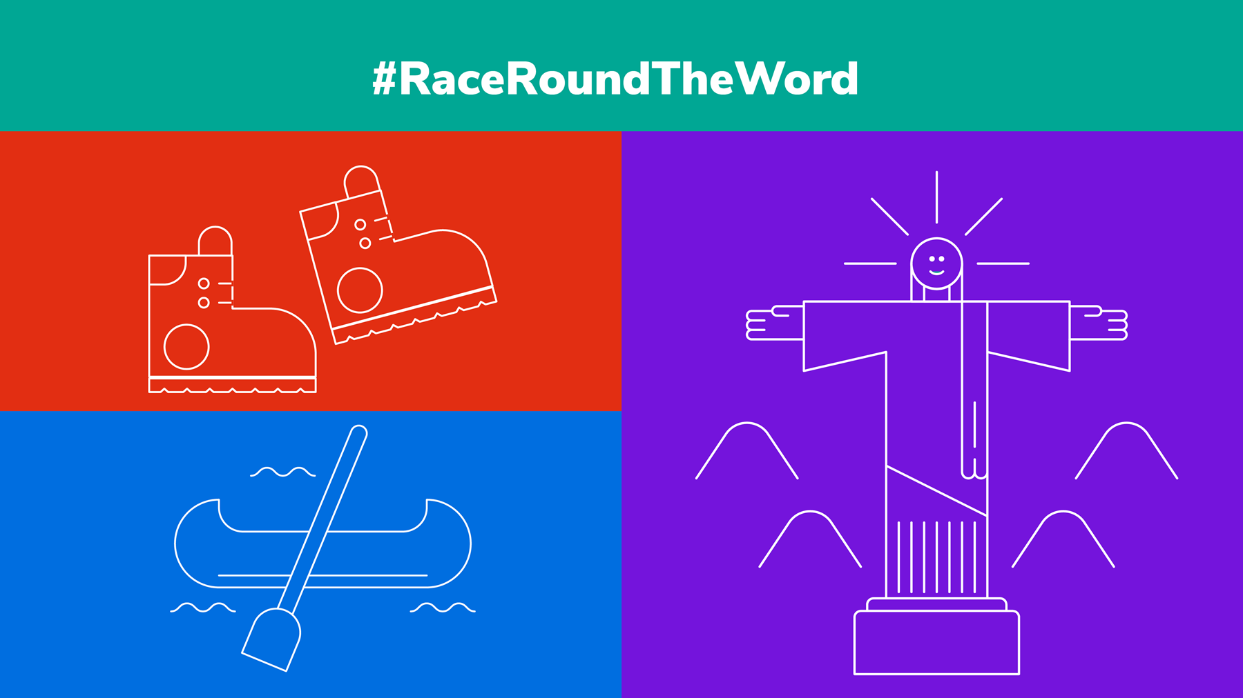Race Round The World Zoom background (2)